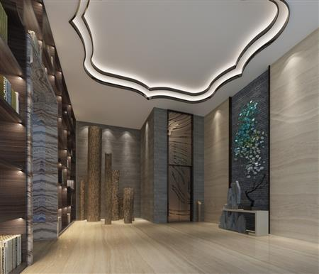 国寿电梯厅