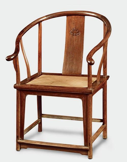 国寿红木明式圈椅